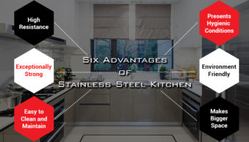 Six Advantages of Stainless Steel Kitchen