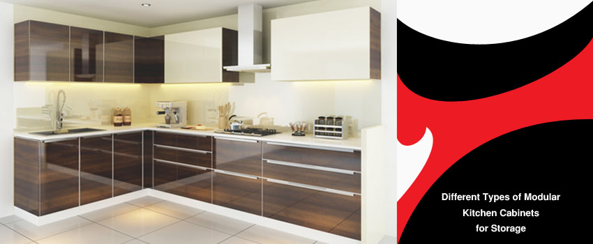 Different Types Of Modular Kitchen Cabinets For Storage