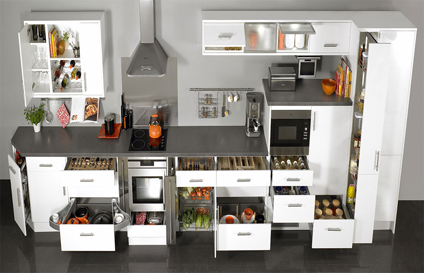 Etonnant Kitchen Cabinets Design Bangalore, Modular Kitchen Providers In Bangalore,  Steel Modular Kitchen Bangalore